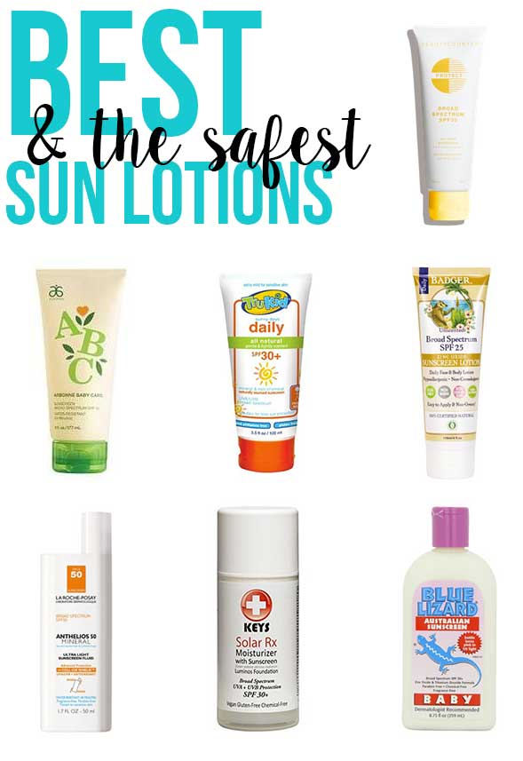 Is your sunscreen safe? Great info how to know if your sun lotion is safe, and a list of the best sun lotions to choose from https://www.skimbacolifestyle.com/2008/04/is-your-sunscreen-safe.html