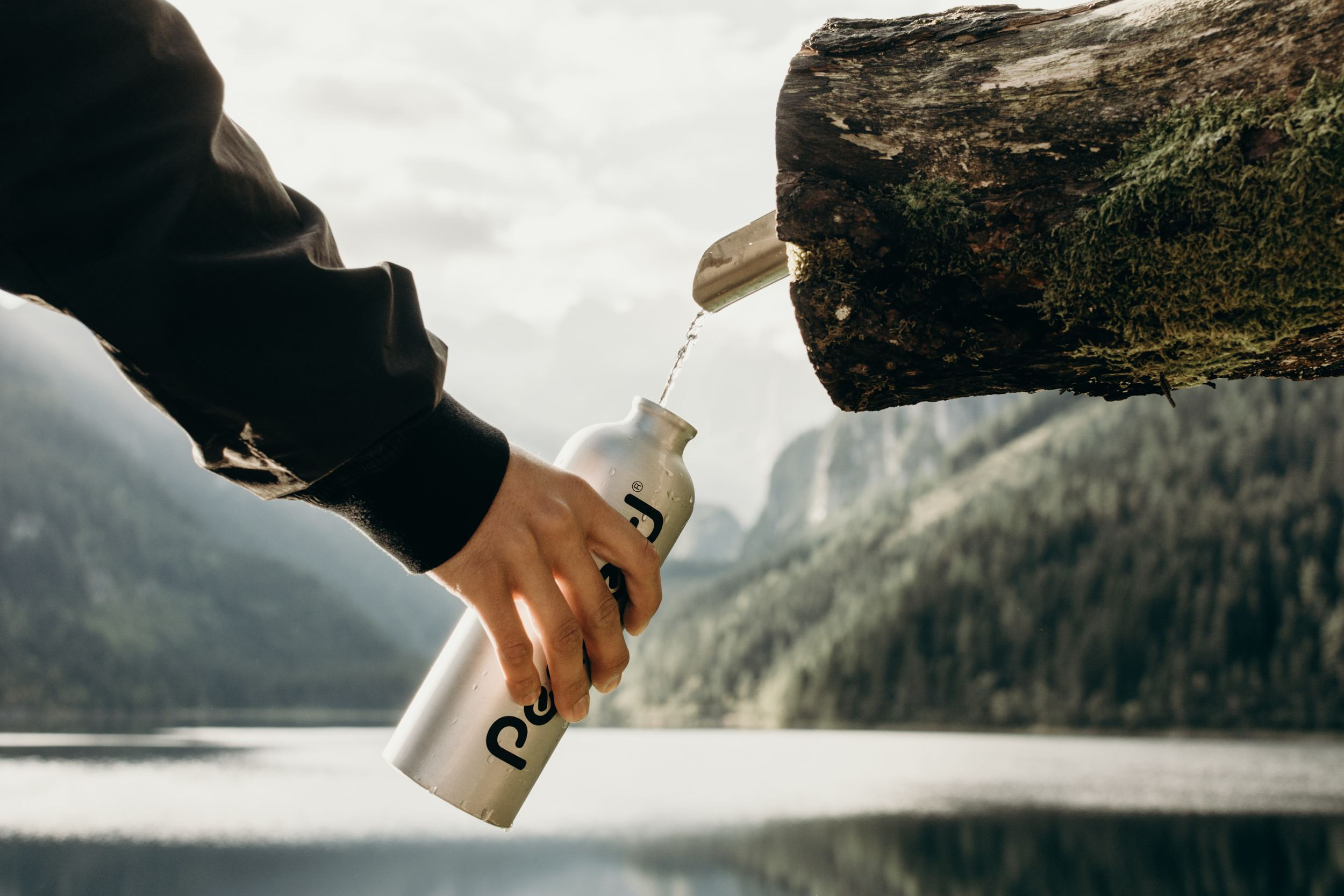 Use Reusable Stainless Steel Water Bottles
