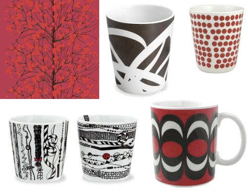 marimekko coffee mugs