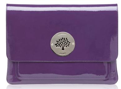 Mulberry plum macbook cover