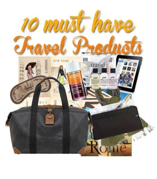must have travel products
