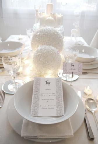 all white printable place cards for Christmas, as seen @skimbaco