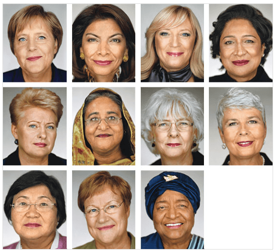glamour women of the year - state heads & presidents