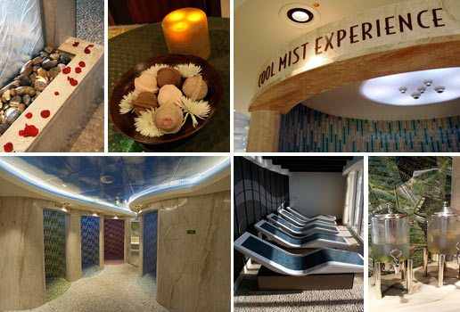 Disney Dream Senses Spa pictures, spa, relaxing luxury cruise