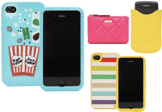 kate spade iphone cover, kate spade accessories, spring 2011