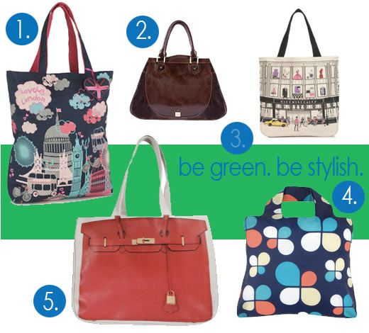 stylish shopping bags, eco chic shopping totes