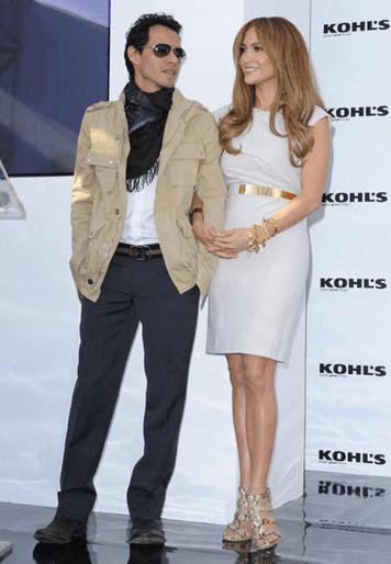 Jennifer Lopez & Marc Anthony at KOHL's