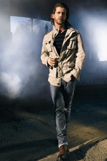 Marc Anthony safari jacket