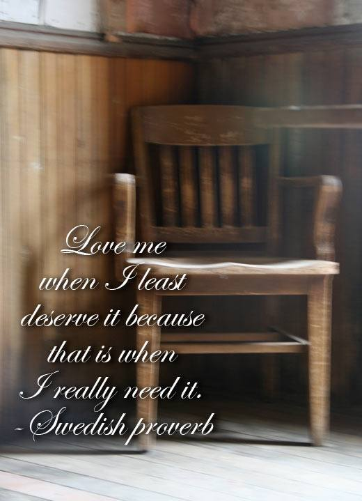 inspirational quote about love, swedish proverb about love