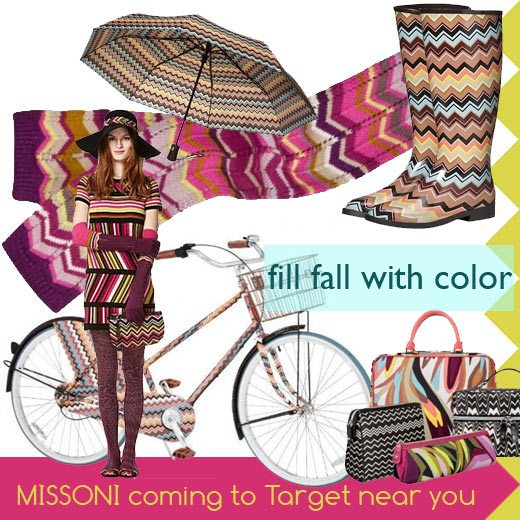 Missoni for Target clothing & fashion collection Fall 2011