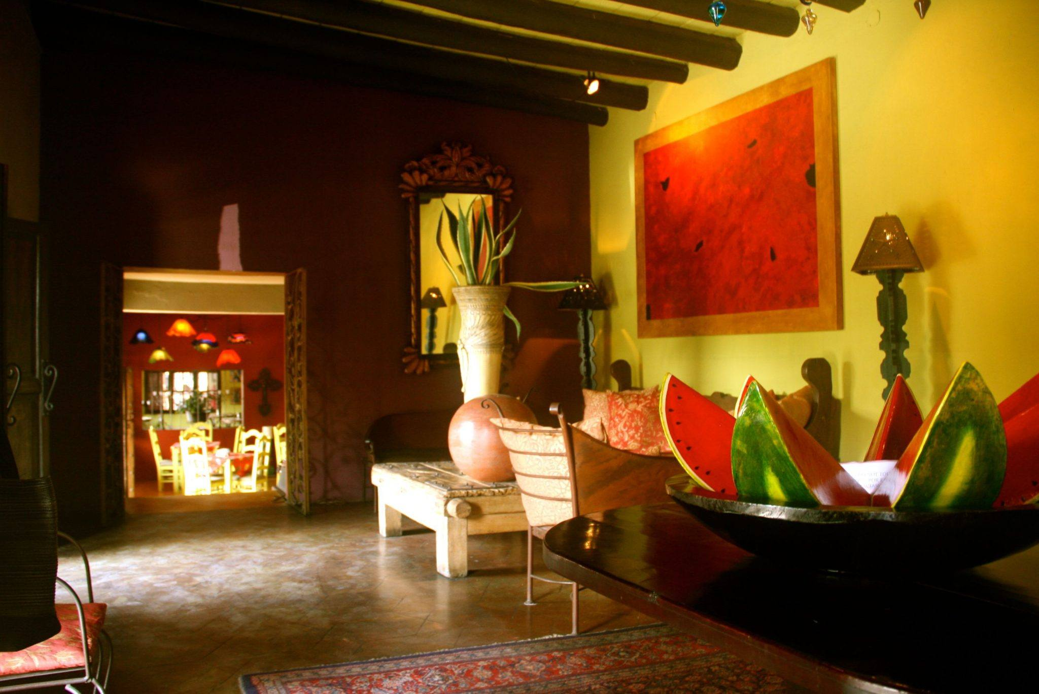 Hotel California, picture of lobby