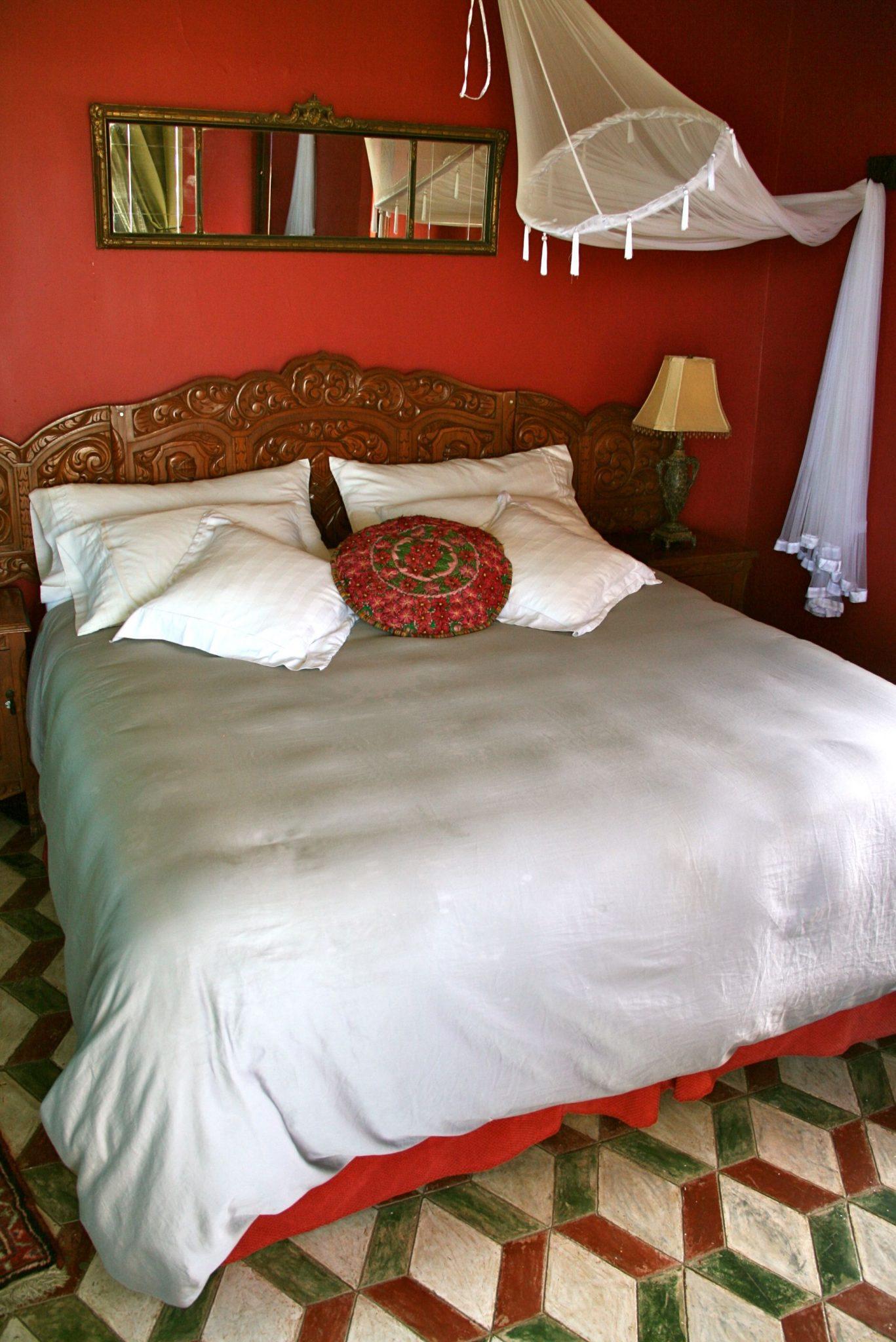 bedroom in Hotel California, Mexican style bedroom