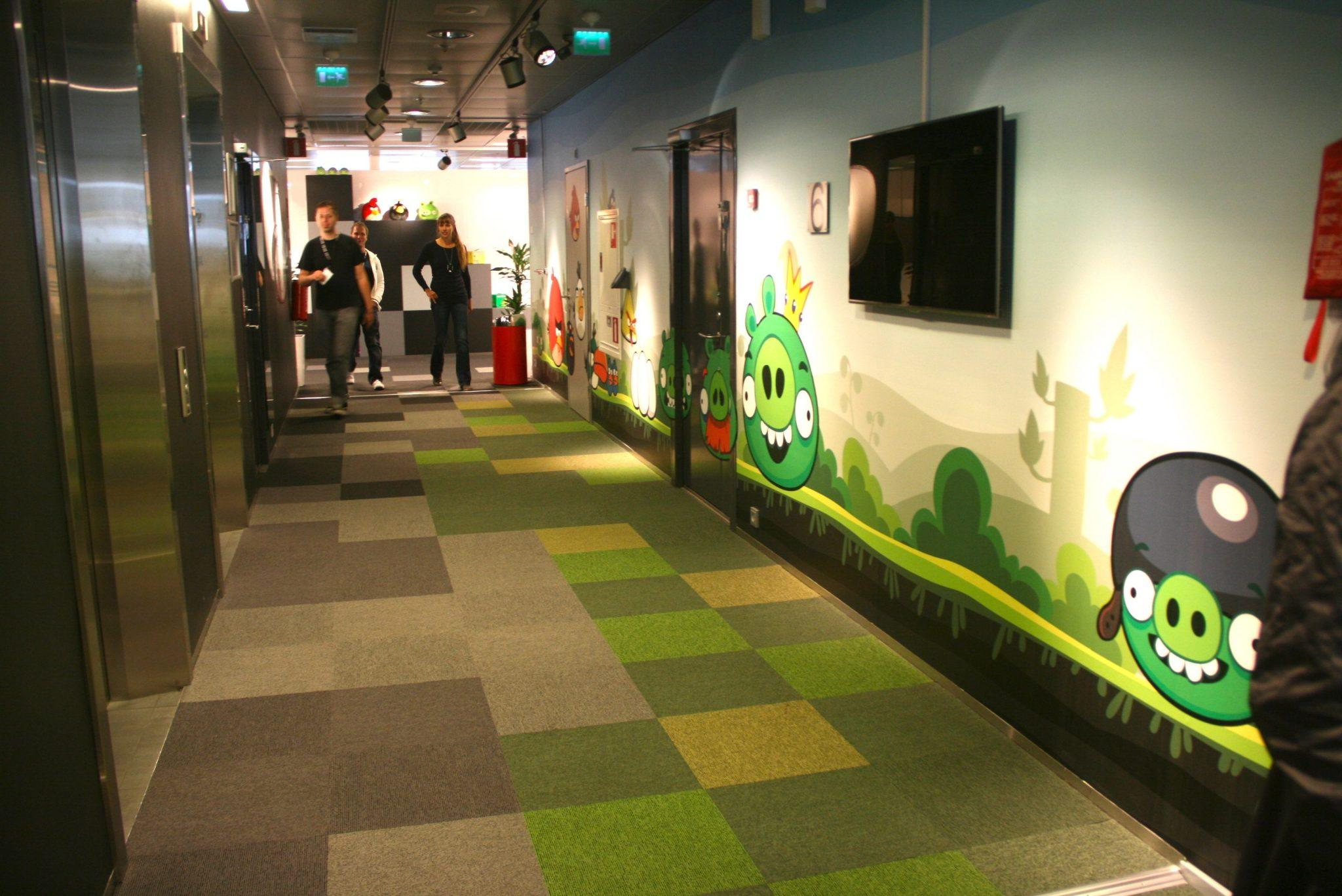 Angry Birds Headquarters In Finland Amp The Mastermind