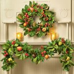 Bountiful Fall Wreath & Garland