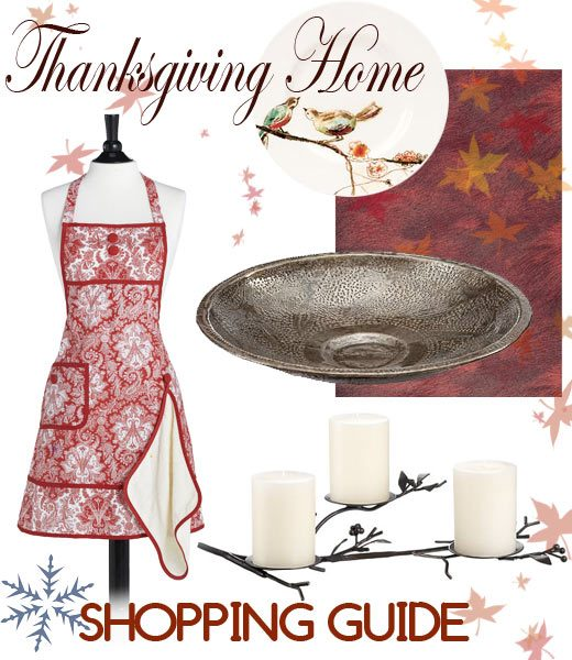 Thanksgiving decorating shopping guide