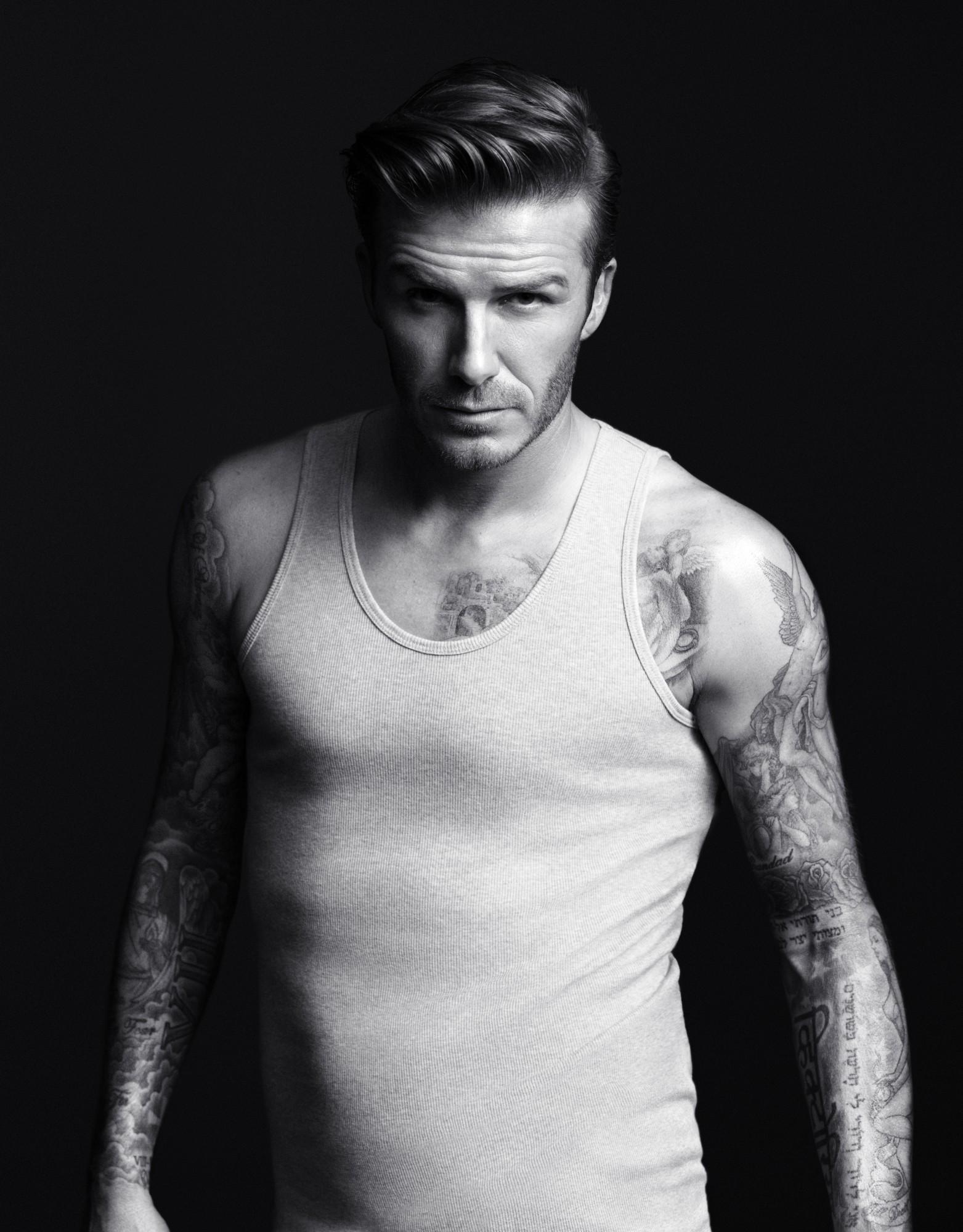 DAVID BECKHAM Bodywear collection for H&M photos, H&M David Beckham Super Bowl ad, Super Bowl commercial
