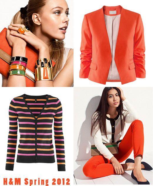 h m spring 2012 trends bold colors vintage flair skimbaco lifestyle online magazine. Black Bedroom Furniture Sets. Home Design Ideas