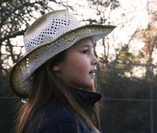 cowgirl, Texas family, nomadic lifestyle