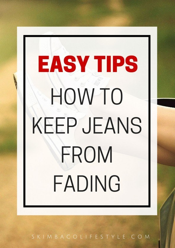 Easy denim care tips: how to keep your jeans from fading. From @skimbaco