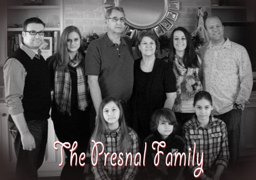 presnal family photo