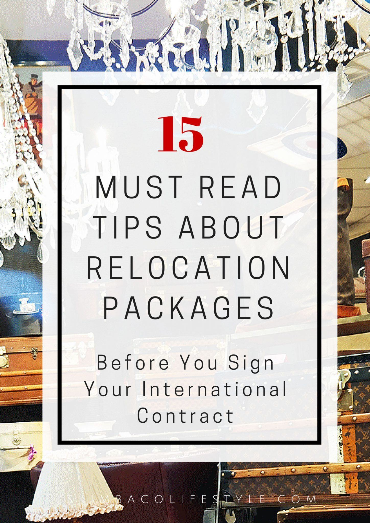 what is a relocation package read these 15 tips about relocation packages before you sign