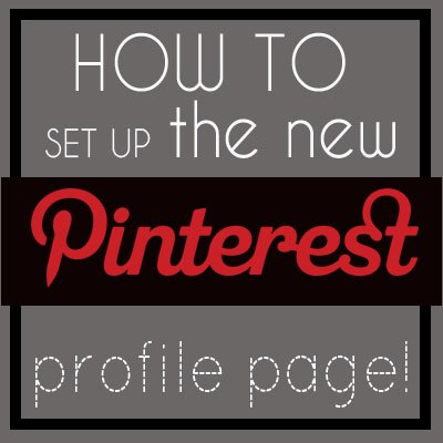 how to rearrange the boards on the new pinterest profile page, pinterest new profile page
