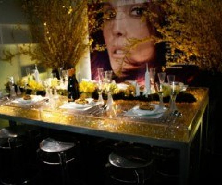 Modern Chic table top designs from DIFFA 2010 show.