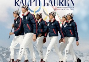 Olympic fashions by Ralph Lauren and Burton for Vancouver 2010.