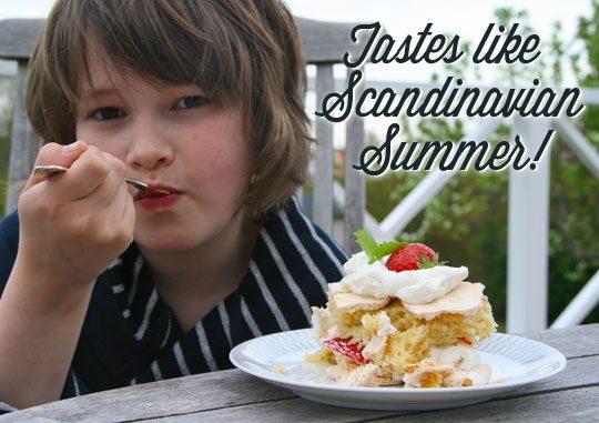 brita cake, brita kakku, meringue cake recipe