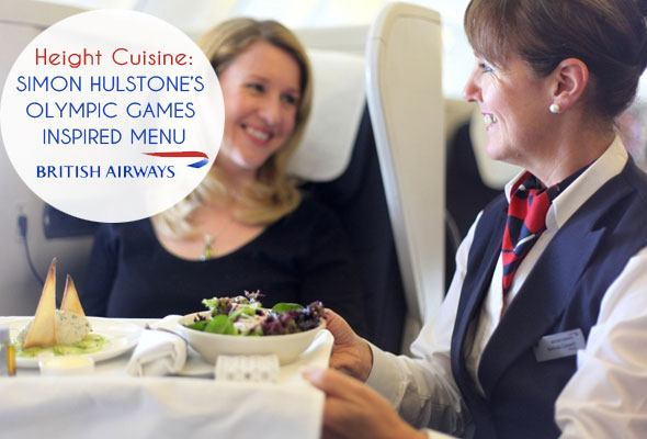 British Airways Olympic Games inspired menu as seen on https://www.skimbacolifestyle.com
