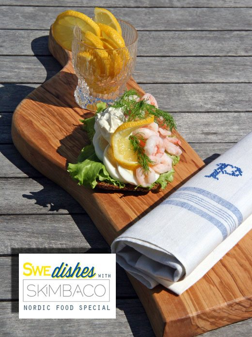 Danish Smørrebrød open faced shrimp sandwich, smorrebrod, shrimp sandwich, party food
