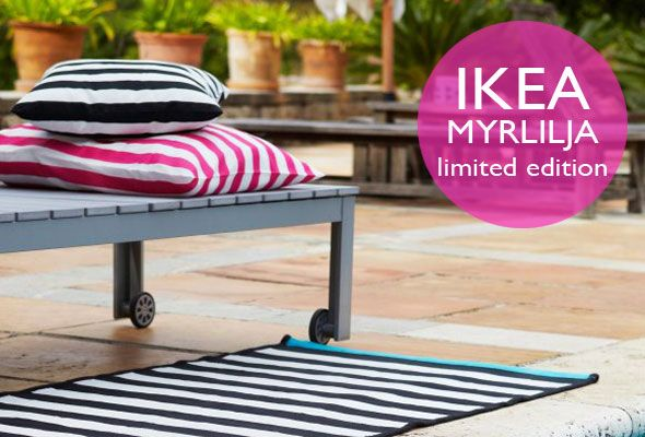 IKEA MYRLILJA now available in the stores as seen on https://www.skimbacolifestyle.com/2012/05/ikea-myrlilja.html, IKEA, outdoor living, inexpensive summer textiles