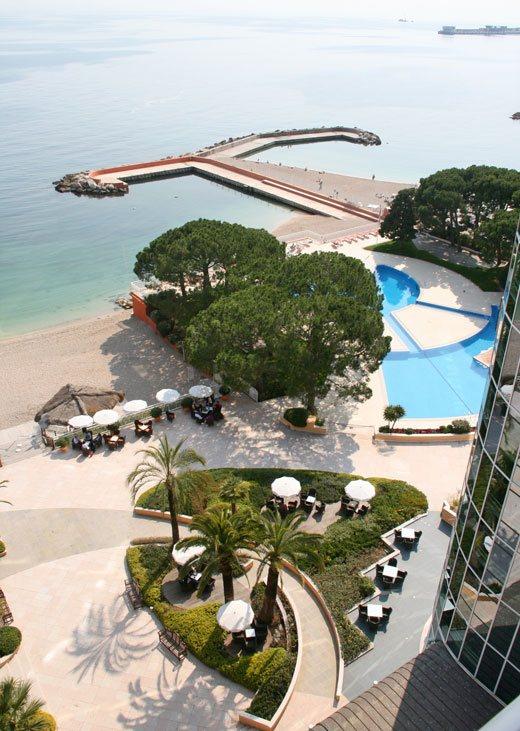 Monte Carlo, Monaco, le meridian beach plaza hotel monte carlo