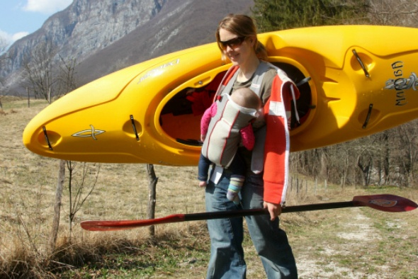 Kayak Trip with a Baby