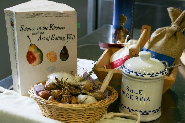 Science in the Kitchen and the Art of Eating Well as seen on https://www.skimbacolifestyle.com/2012/08/making-pasta-in-italy.html