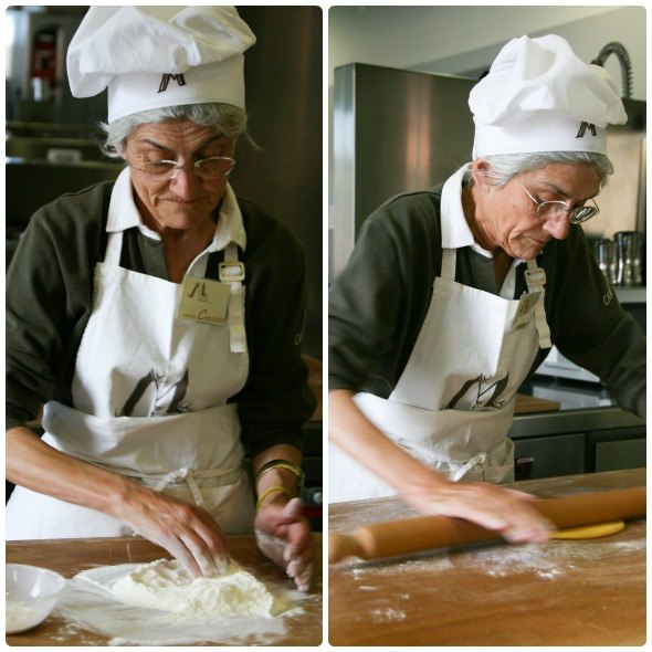 Pastamaking in Casa Artusi as seen on https://www.skimbacolifestyle.com/2012/08/making-pasta-in-italy.html