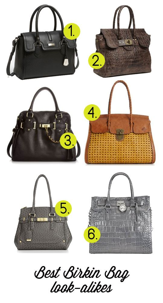 Birkin bag look-alikes, cheap bags that look like Birkin Bag