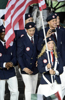 Ralph Lauren Olympic outfits, opening ceremony London 2012