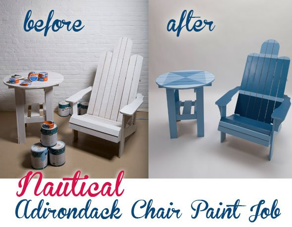 Weekend Project: Adirondack Chair Paint Job