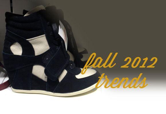 fall 2012, shoes, wedge sneakers, high heel sneakers