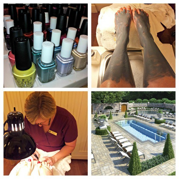 Pampering at the Spa. A new spa garden will be opening soon.