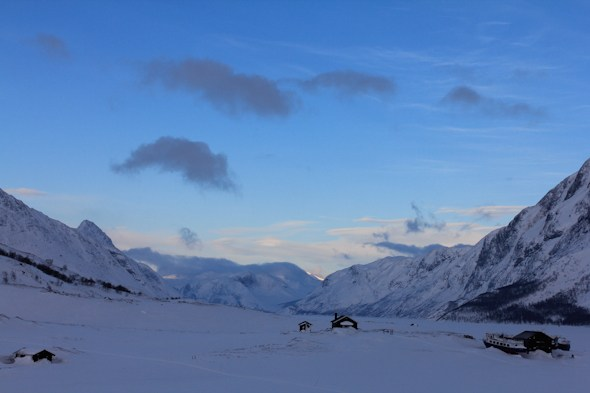 Gjendesheim in the winter by @SatuVW as seen on https://www.skimbacolifestyle.com/2012/09/travel-to-norway.html