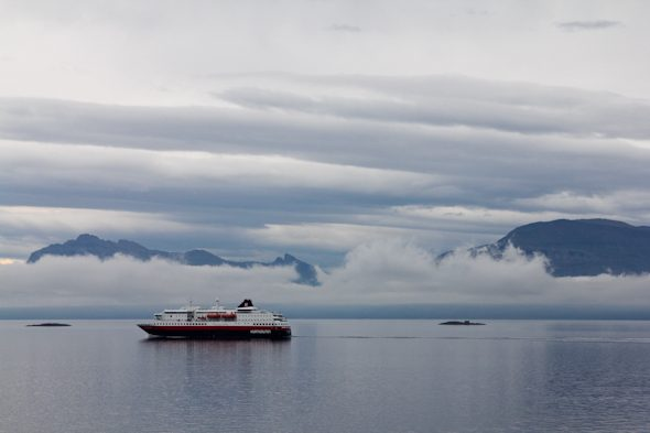 Hurtigruten Coastal Ferry in Norway by @SatuVW as seen on https://www.skimbacolifestyle.com/2012/09/travel-to-norway.html
