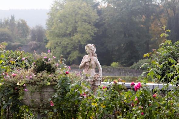 Garden in the Castle Durrow in Ireland I @SatuVW