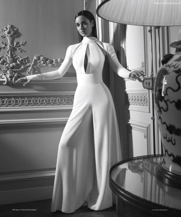 James Bond Skyfall Girl Berenice Marlohe by photographer Benjamin Kanarek, bond girl, marlohe, Bérénice Marlohe in Harper's BAZAAR en Español