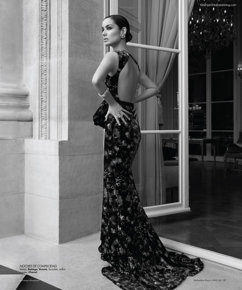 James Bond Skyfall Girl Berenice Marlohe by photographer Benjamin Kanarek