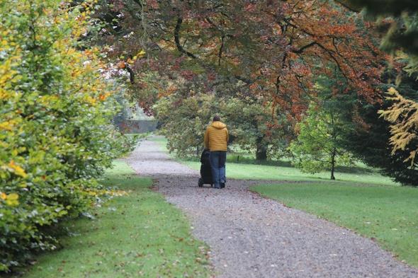 Walk by Castle Durrow in Ireland I @SatuVW
