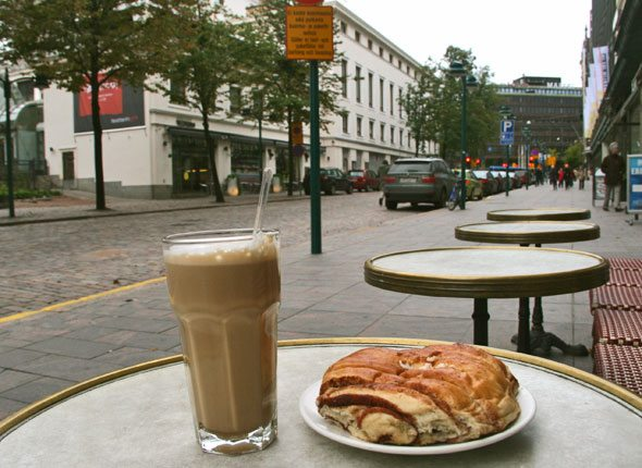 the best cinnamon bun in Helsinki