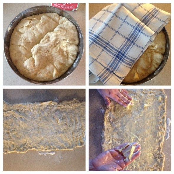 Photo instructions how to make cinnamon buns