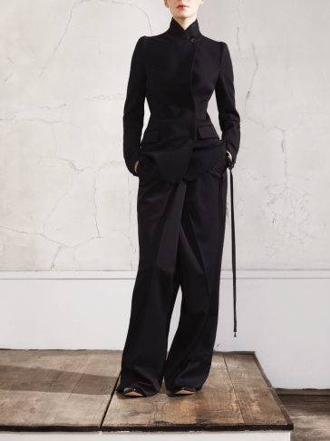 Maison Martin Margiela for H&M black pants look book photos